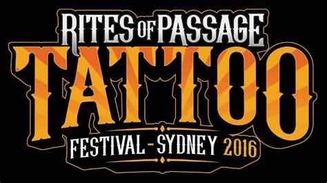 tattoo expo 2015 sydney tickets tattoo expo sydney 2016 rites of passage festival youtube