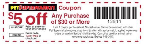 Pet Supermarket Printable Coupons printable coupons in store coupon codes pet supermarket