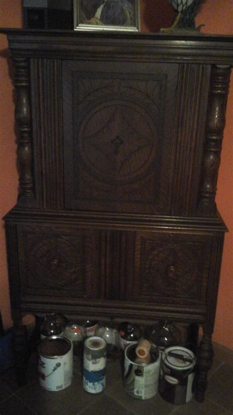 Hutch Identity Does Anyone Know Origin Or Era Of This Hutch   My Antique Furniture Collection