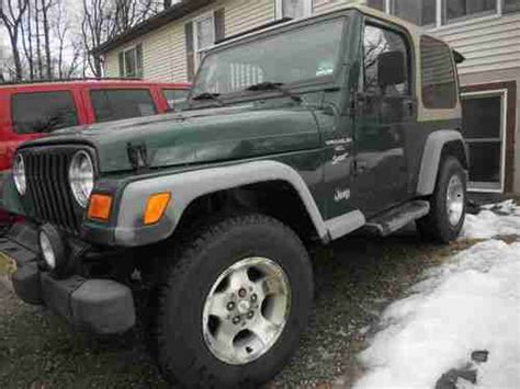 Jeep Parts New Jersey Find Used 2001 Jeep Wrangler 1 Owner Parts Vehicle In