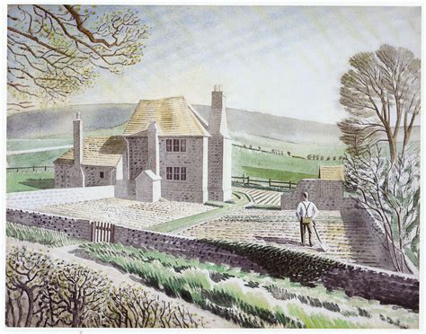Shepherds Cottage shepherds cottage firle eric ravilious 10 x 12 inch ready