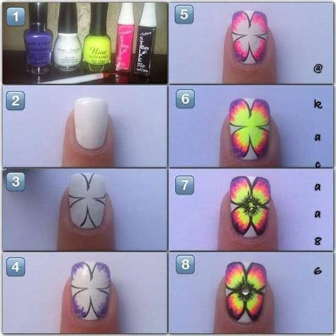 tutorial fiori nail 15 tutorial step by step per nail floreali