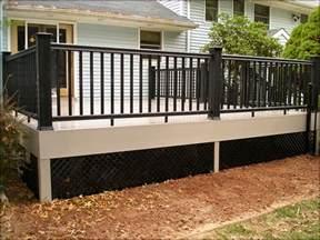 house skirting ideas buy black lattice deck skirting search home