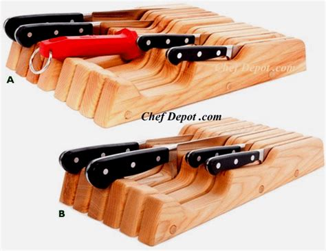 global in drawer tray knife set knifeblock magnetic knife rack magnetic knife tool