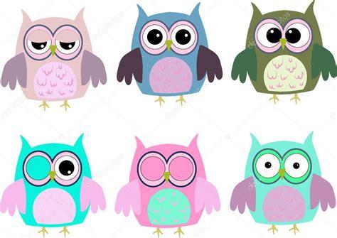 imagenes kawaii de buhos dibujos animados de buhos con varias emociones foto de
