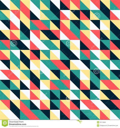 pattern and design photography retro triangular wallpaper stock illustration