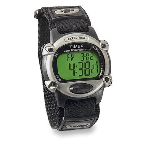Expedition E6381 Rantai Silver Black 1 timex expedition fast wrap rei