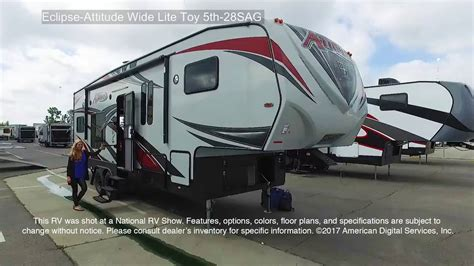 eclipse attitude toy hauler floor plans eclipse attitude fifth wheel toy hauler floor plans
