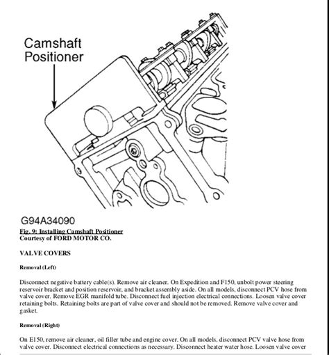electric power steering 1997 ford f150 electronic valve timing 2002 ford f150 service repair manual