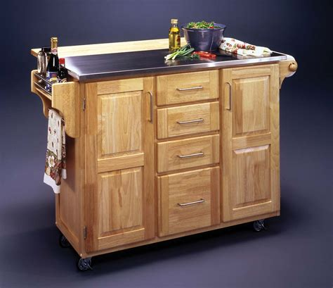 Kitchen Island Cart With Breakfast Bar Home Style Choices Movable Kitchen Island