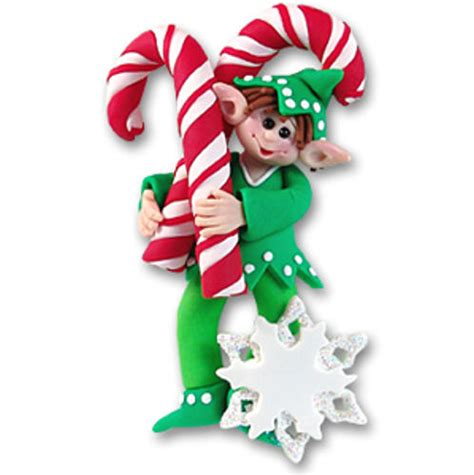 elf christmas ornament happy holidayware