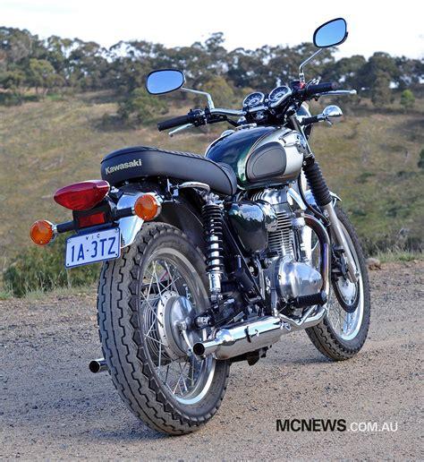Www Kawasaki by Kawasaki W800 Review Mcnews Au