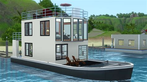 images of boat house mod the sims salt and pepper house boat