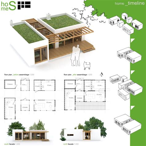 green building house plans winners of habitat for humanity s sustainable home design competition archdaily