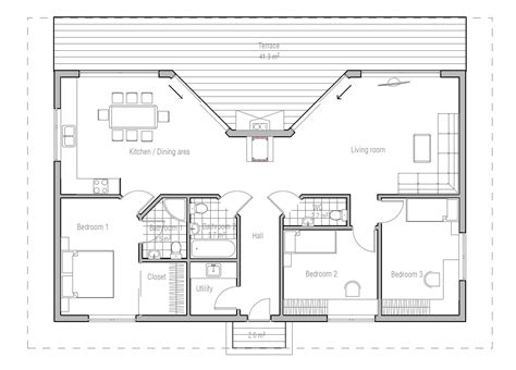 small home blueprints modern micro house plans modern house