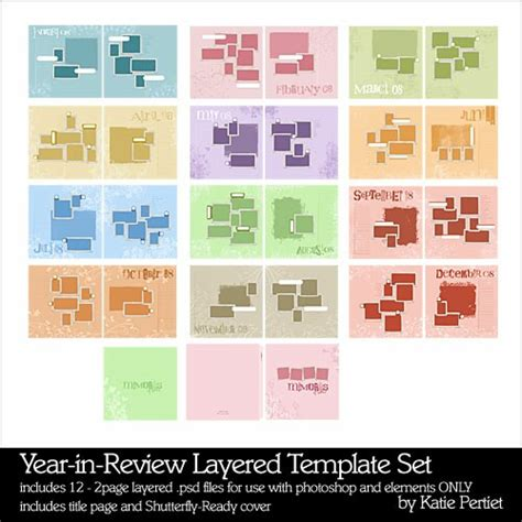 year in review layered template set pertiet pse