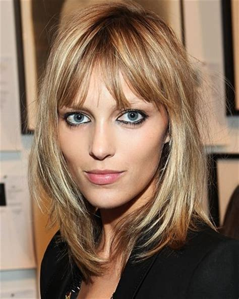 hair styles for fine hair to suit a square face 25 best ideas about fine hair bangs on pinterest