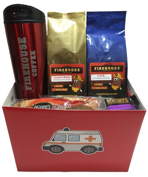 Ems Gift Card - ems gift 171 ems gift basket for a paramedic emt or nurse 171 firehouse coffee company