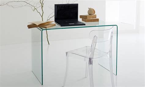 scrivania cristallo ikea scrivania in cristallo groupon goods