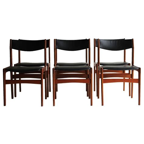 danish dining room chairs erik buch style danish teak dining chairs at 1stdibs