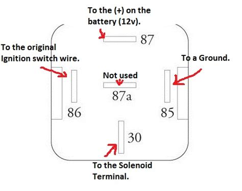 car relay wiring diagram must do starter relay mod for the s30 z the auto