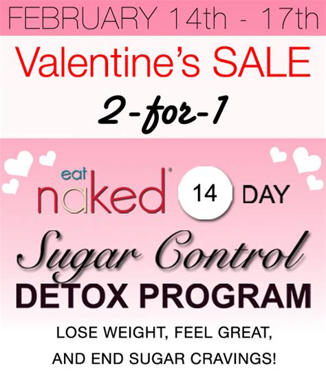 Sugar Detox Flashes by Lovebird Special Sugar Detox 2 For 1 Sale Eat