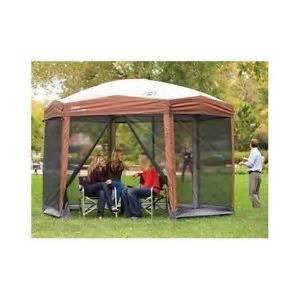 Coleman Garden Gazebo Outdoor Shelter coleman outdoor gazebo patio shelter party tent screened
