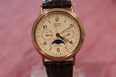 Vintage CITIZEN Elegance Moon Phase Quartz Unisex Watch