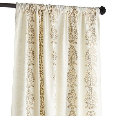 Gold And Ivory Curtains 23 Best Images About Fabric Curtains On Pinterest