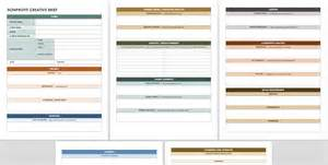 copy brief template free creative brief templates smartsheet