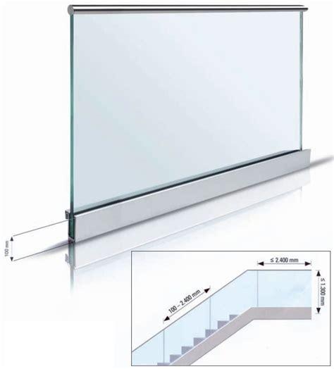 barandilla de vidrio barandillas de vidrio que se montan con facilidad