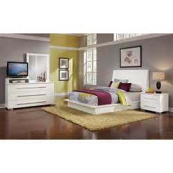 dimora white ii 6 pc bedroom value city furniture