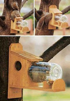 squirrel under glass feeder backyard boys woodworking bbw8 squirrel glass feeder patio lawn garden