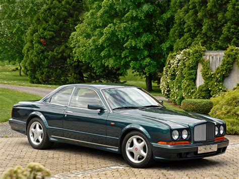 bentley continental mulliner bentley continental t by mulliner park ward 1996