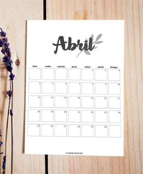 Calendario 9 De Abril M 225 S De 1000 Ideas Sobre Calendario Abril 2016 En