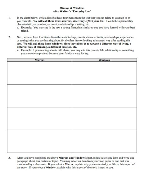 everyday use worksheet walker quot everyday use quot thedrudgereort309 web fc2