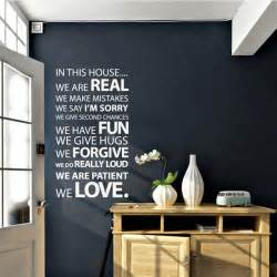 Home Decoration Quotes by Wall Decor Vinyl Stickers Bill House Plans