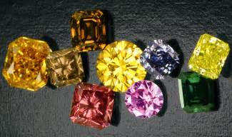 fancy color diamonds or artificial colored diamonds