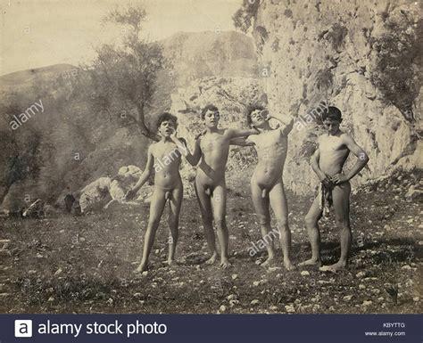 young nude boy gloeden wilhelm von 1856 1931 n 1171 stock photo
