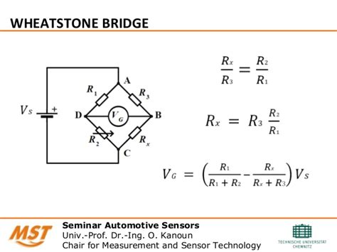 bridge resistor formula wheatstone bridge circuit design and simulation for temperature senso