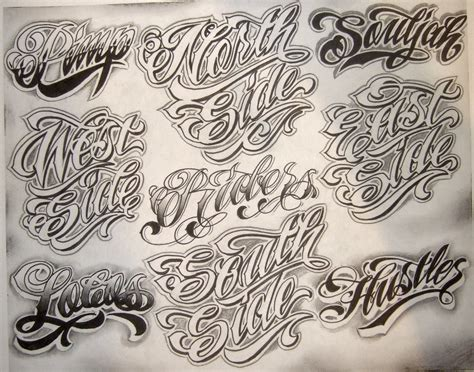 tattoo fonts chicano flash by boog татуировки зарисовки 191 фото