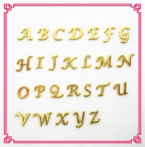 Kalung Titanium Inisial Huruf Az Murah alphabet charms emas beli murah alphabet charms emas lots from china alphabet charms emas