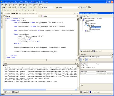 vb net exle insert using visual basic net