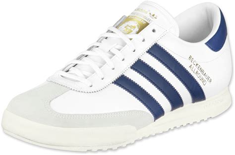 Adidas Prewalker White Blue adidas beckenbauer shoes white blue