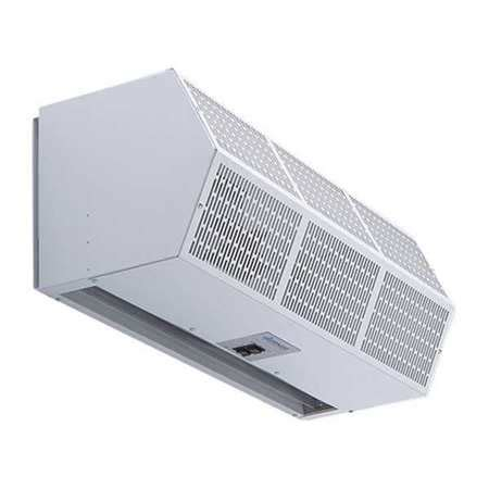 heated air curtain berner heated air curtain 8kw 240v 1882 cfm chc10