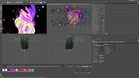 motion graphics workflow cinema 4d broadcast