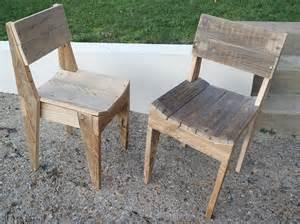 la menuiserie 503 chaises en bois de palette