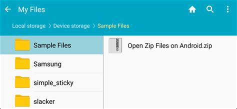 how to unzip files on android phone how to open and create zip files on an android device