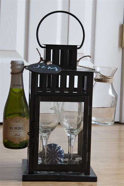 Small Housewarming Gift | great housewarming gift lantern from ikea small wine