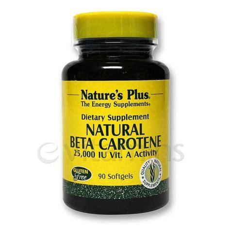 Beta Carotene Detox by Nature S Plus Beta Carotene 90 Softgels
